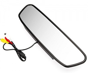 5'' LCD Screen Car Rearview Mirror