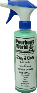 Poorboys World Spray and Gloss