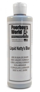 Poorboys World Natty's Liquid Wax - Blue